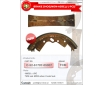 Cosmic Forklift Parts New Parts NO.250-BRAKE SHOE(NON-ASBE.)