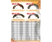 Cosmic Forklift Parts On Sale No.267-BRAKE SHOE(NON-ASBESTOS)
