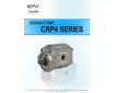 Cosmic Forklift Parts New Parts No.322-CPW HYDRAULIC PUMP CRP4.CFZ4 SERIES