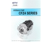 Cosmic Forklift Parts On Sale No.339-CPW HYDRAULIC PUMP CFZ4 SERIES CATALOGUE (part no.)
