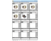 Cosmic Forklift Parts On Sale No.323-CPW HYDRAULIC PUMP CDF32&33 CFS32 SERIES CATALOGUE (size)-page2