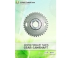 Cosmic Forklift Parts On Sale No.343-GEAR CAM SHAFT(size)