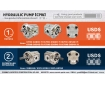 Cosmic Forklift Parts New Parts NO.383-Hydraulic pump [CPW]